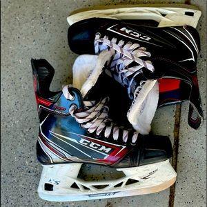 Boys CCM Ice Hockey Skates